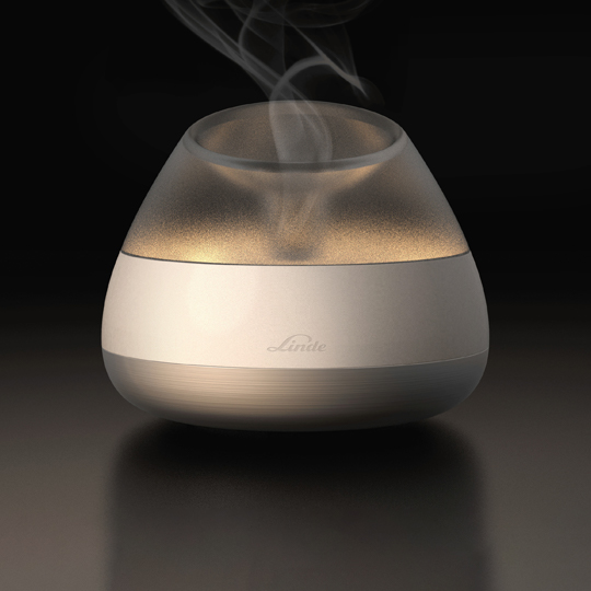nebuliser emitting aerosol