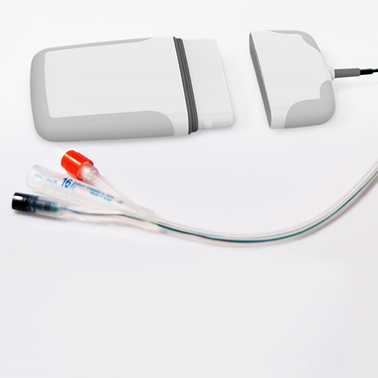 catheter infection prevention device with tubing