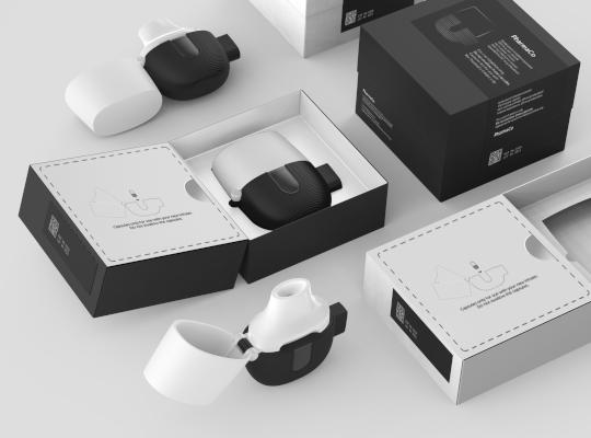 rendering of packaging concept