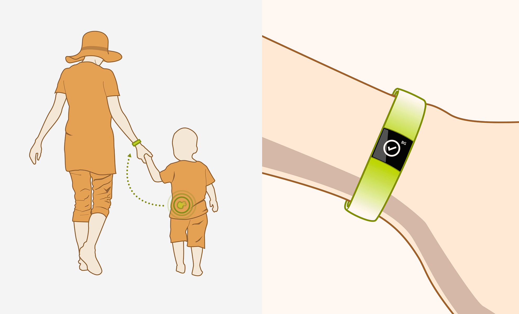 diabetes-week-mother-and-boy-on-the-beach
