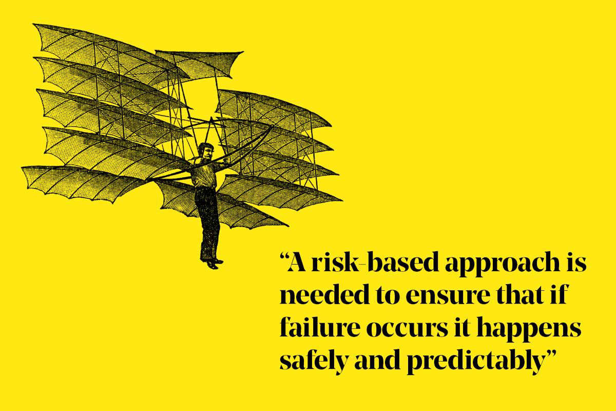 risk-based-approach-failure-friend-quote